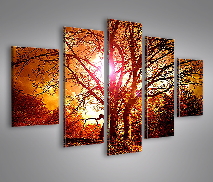 suntree mf 5 bilder 160x80 bild auf leinwand wandbild poster ebay. Black Bedroom Furniture Sets. Home Design Ideas